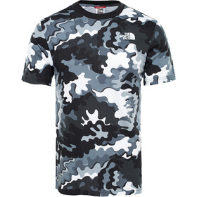 The North Face Redbox SS Tee Herren tnf black psychedlic print